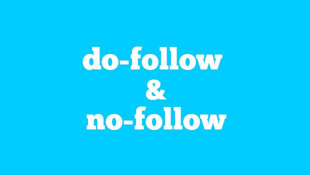 Do follow and No follow