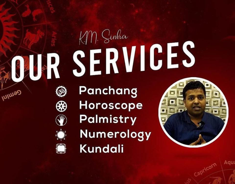 vedic astrologer KM Sinha