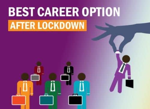 best career option after lockdown