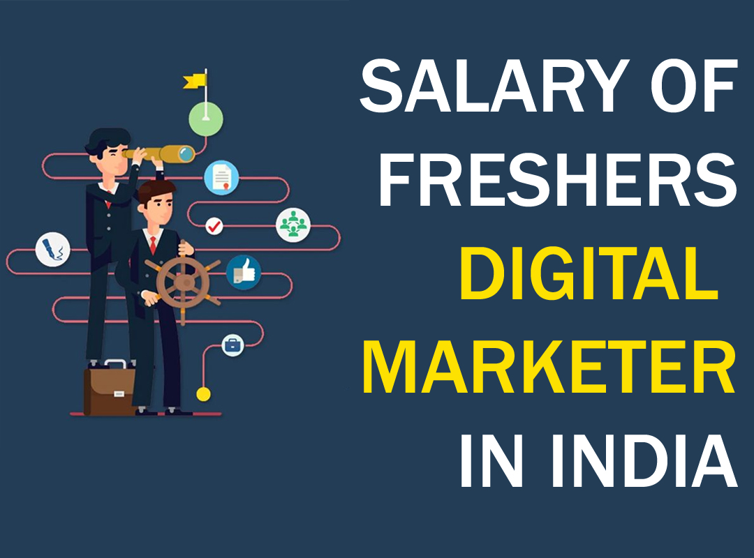salary of fresher digital marketer in india